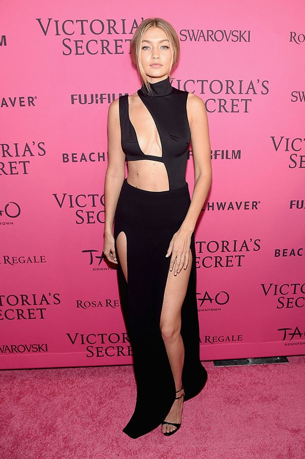 Gigi Hadid attends the 2015 Victoria's Secret Fashion After Party at TAO Downtown on November 10, 2015 in New York City. (Photo by Michael Loccisano/Getty Images for Victoria's Secret)