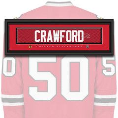 Chicago Blackhawks - Corey Crawford - NHL Jersey Name Patch