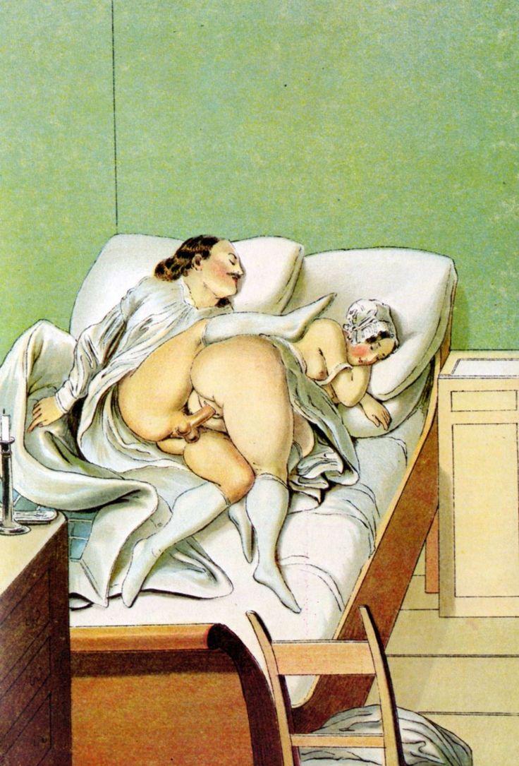 Illustration d'art érotique