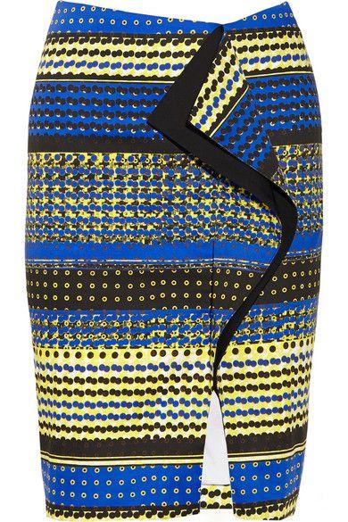Prabal Gurung ruffled skirt #ItsAllAboutAfricanFashion #AfricanPrints #kente #ankara #AfricanStyle #AfricanFashion #AfricanInspired #StyleAfrica #AfricanBeauty #AfricaInFashion