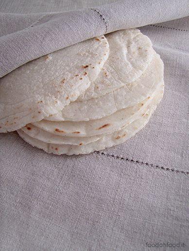 Autentiche tortillas messicane fatte in casa