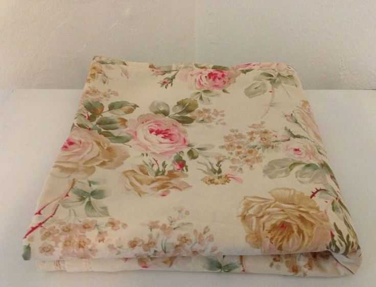 Crisp~Vintage Ralph Lauren Woodstock Flat Sheet~Excellent Condition~PRETTY #RalphLauren #FrenchCountry