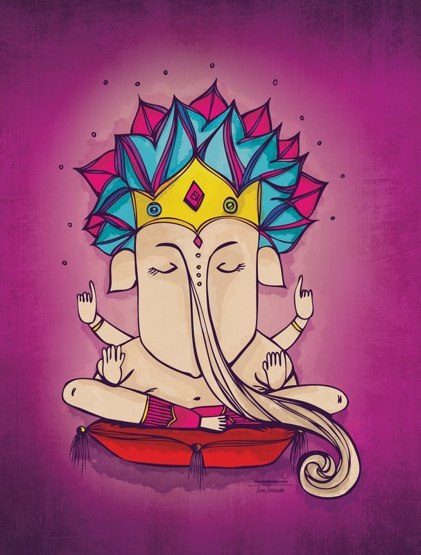 Ganesha at urban arts