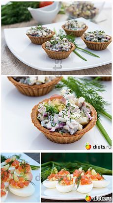 Легкие закуски к майским праздникам. Вкусная коллекция: Здоровое питание - diets.ru