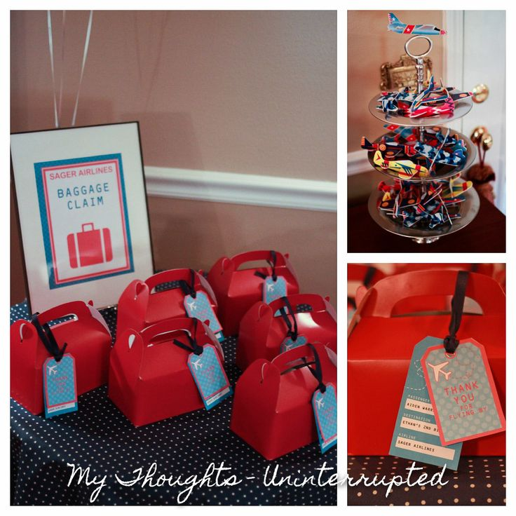 ... on Pinterest  Baggage, Airplane birthday themes and Travel party