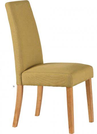 Hanbury Lime Fabric Dining Chair