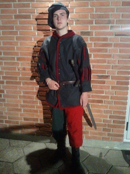Ready for Larp VII - Johan von Krüdenwald in Warhammer Hochland