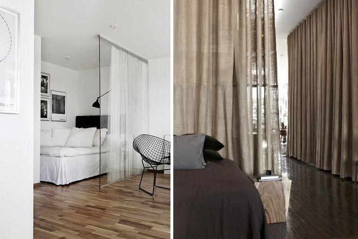 | Tips para decorar con cortinas de forma alternativa