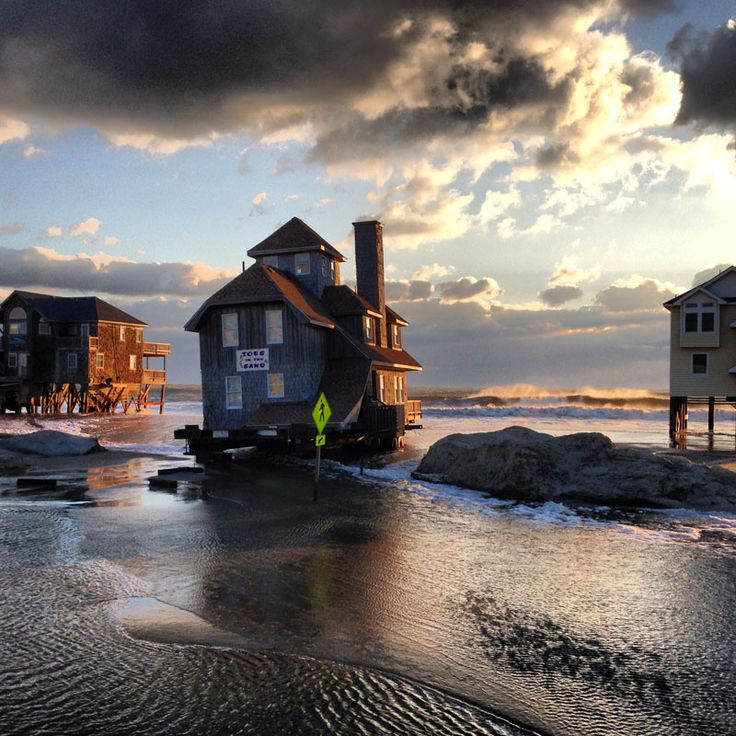 Hatteras Island: Waterfront Property Outer Banks, Rodanthe, NC Style