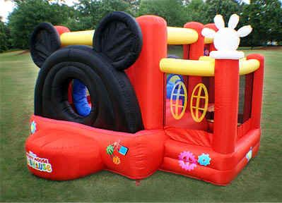 Mickey Mouse Clubhouse bounce house! Sister kyva needs this for his birthday