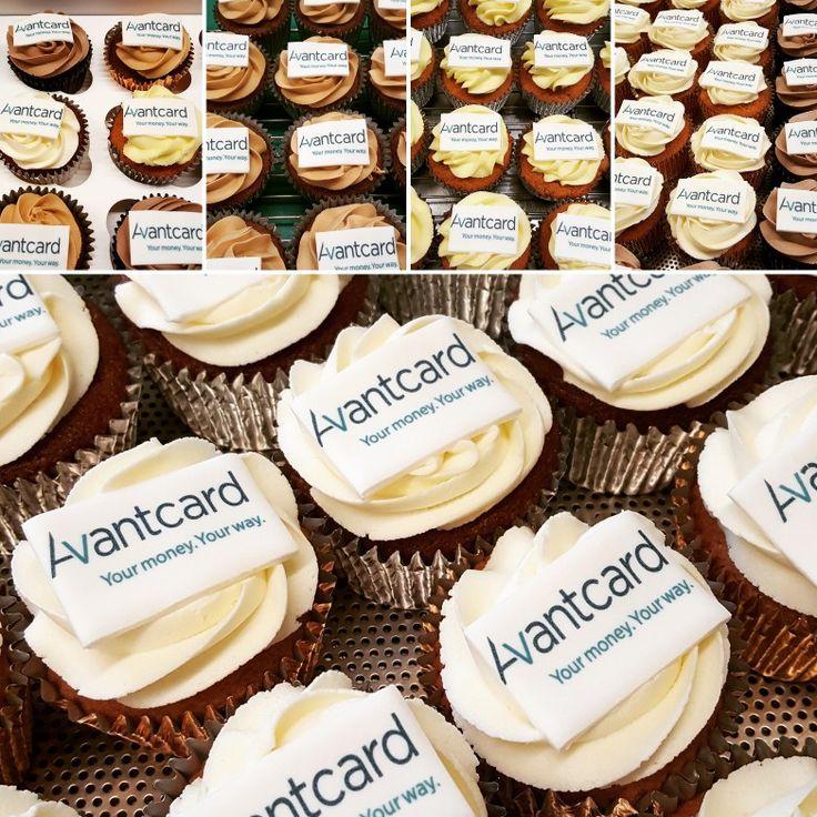Cannaboe corporate cupcakes #Avantcard @Avantcard