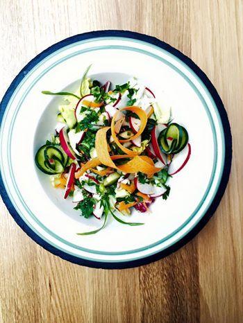 #Salata de #cruditati cu #legume de #sezon