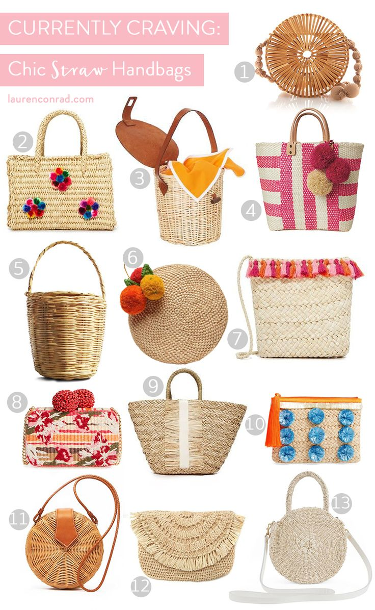 Currently Craving: Straw Bags – Lauren Conrad