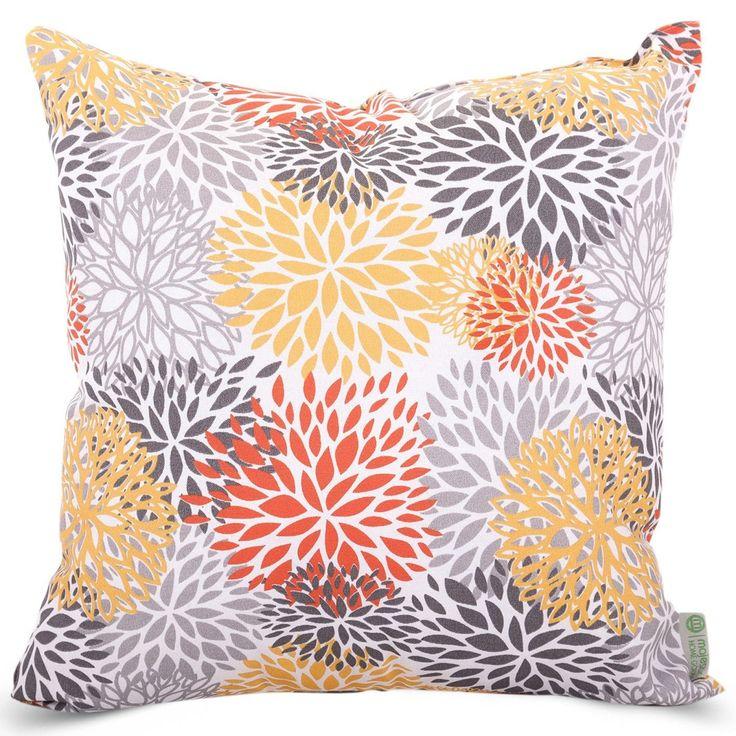 Citrus Blooms Extra Large Pillow