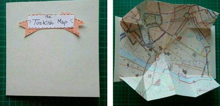 Il Pettirosso che Ride: La Turkish Map - Elemento per Lapbook