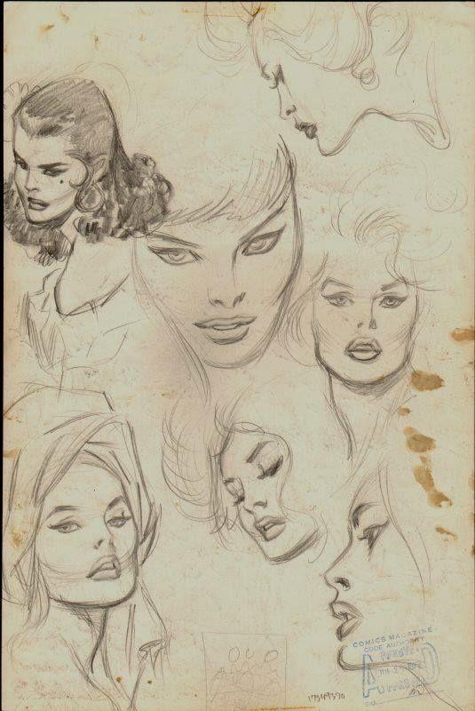 John Buscema Sketches
