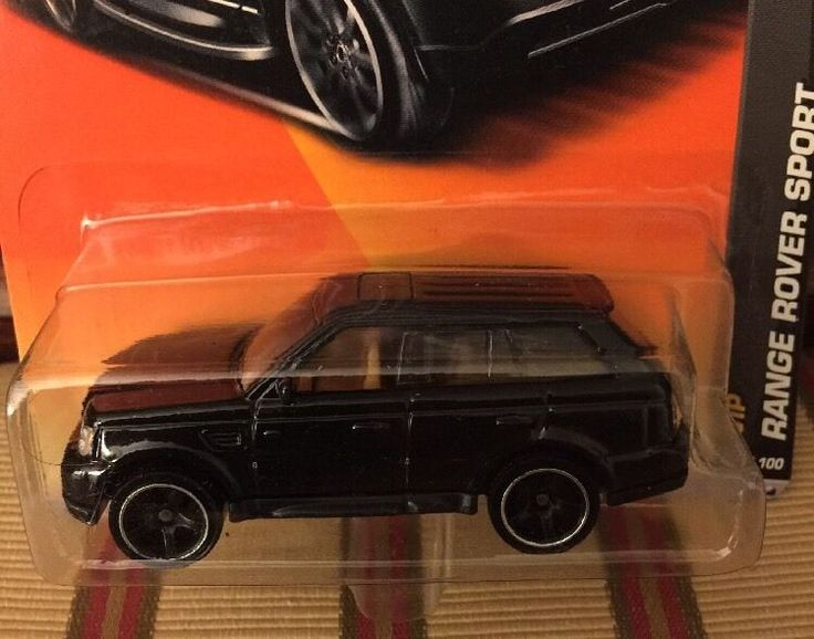 Matchbox Range Rover Sport Black Scale 1/65 On Long Card MB 591  | eBay
