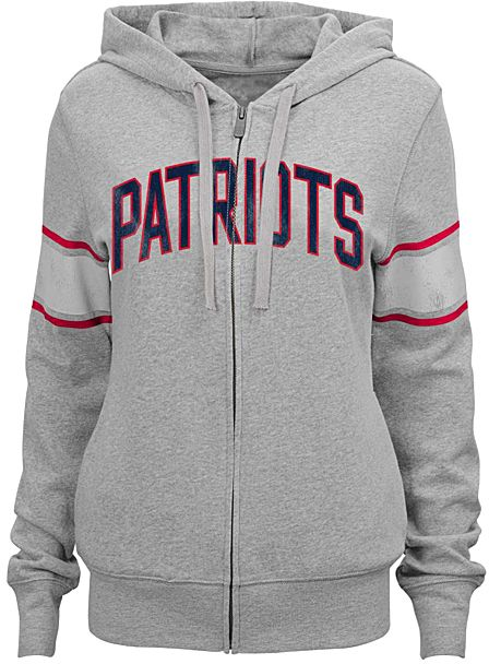 New England Patriots Boyfriend Hoodie - Juniors