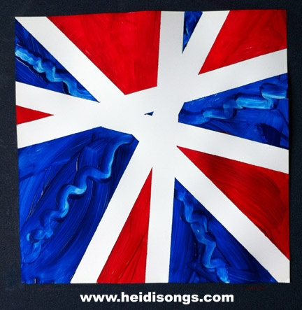 Heidisongs Resource: A Memorial Day Art ProjectFun Art, Summer Crafts, Patriots Crafts, Tape Art, Songs Hye-Kyo, Memories Day Art Projects, Heidisongs Resources, Patriots Art, Heidi Songs