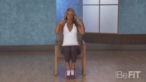 exercices à faire assis pour réduire la graisse abdominale