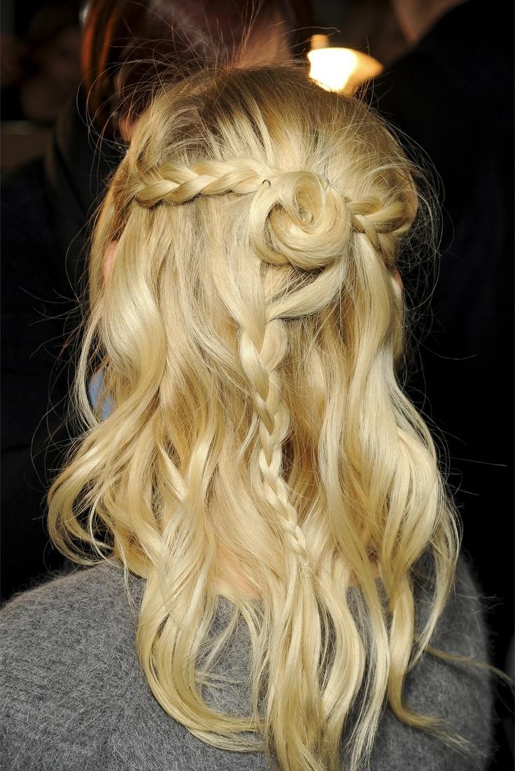 Rodarte Fall - Winter 2013/2014 hair #LOVE #TARTCollections