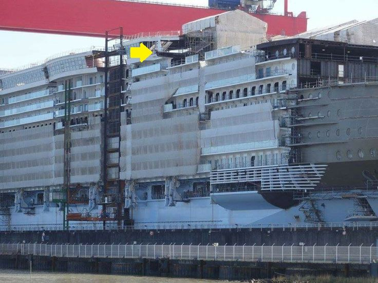 Symphony of the Seas (Oasis 4) Construction at STX France ... Oasis Of The Seas Construction