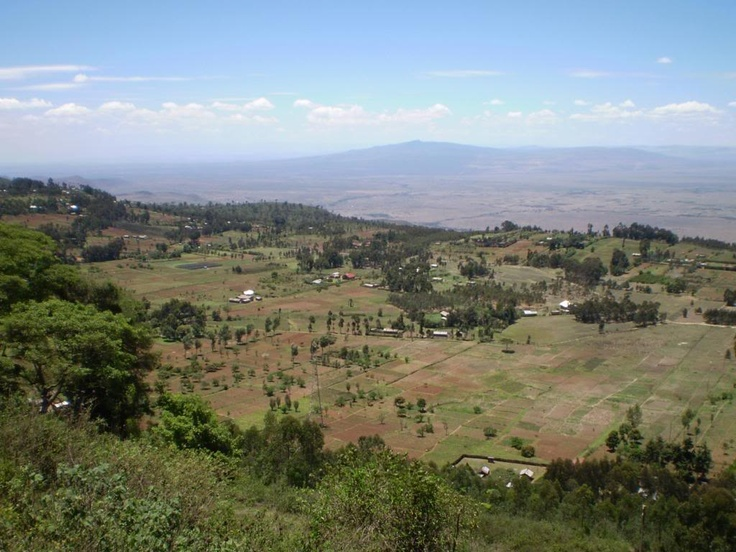 East African Rift Valley - Kenya (on A104 highway near nakuru)