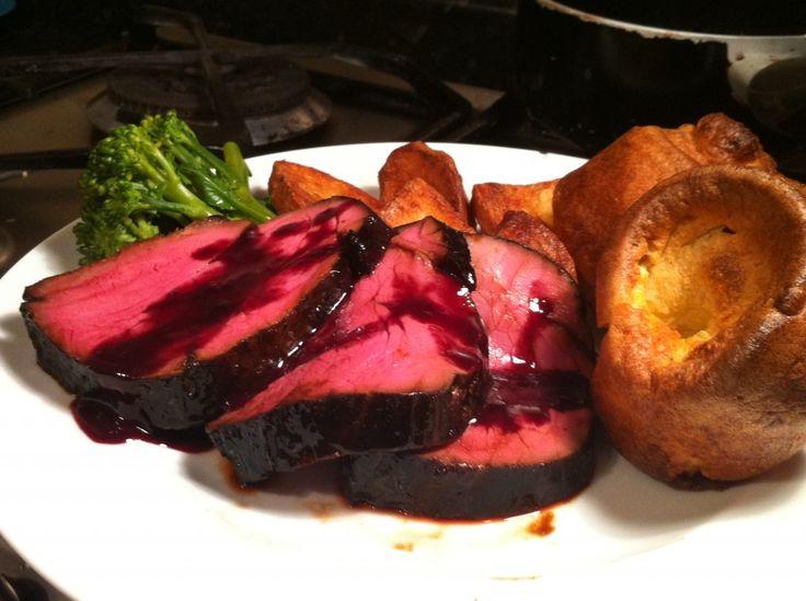 Tom Kerridge's Black Treacle-cured Fillet of Beef