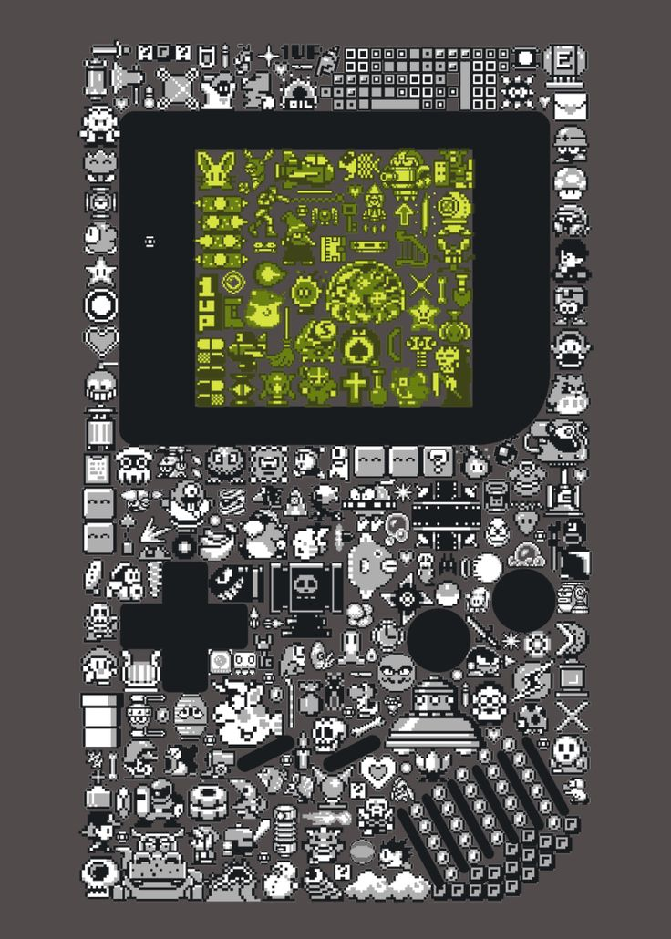 """Playing With Power"" - thehookshot via Reddit user lordsmish Art #GameBoy"