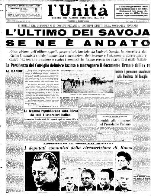 """13 Giugno 1946 In seguito al referendum istituzionale del 2 giugno, che aveva visto la vittoria della """"Repubblica"""" il re Umberto II Savoia abbandona l'Italia per l'esilio. Sarà ricordato come """"il re di maggio"""". #TuscanyAgriturismoGiratola"""