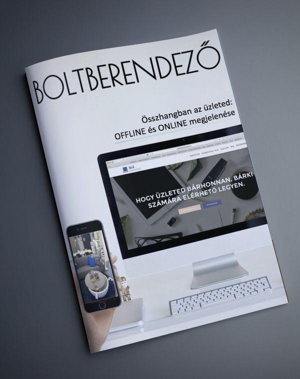 Összhangban az üzleted offline és online - ingyenes Boltberendező magazin