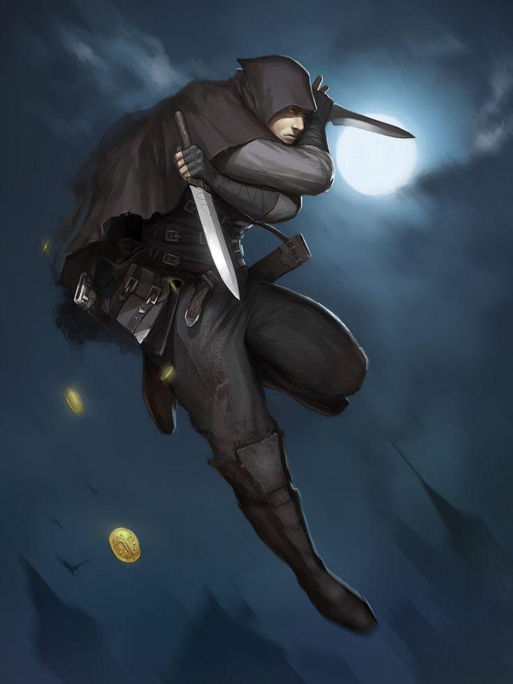 686 Best Fantasy RangersAssassins Thiefs And Rougues