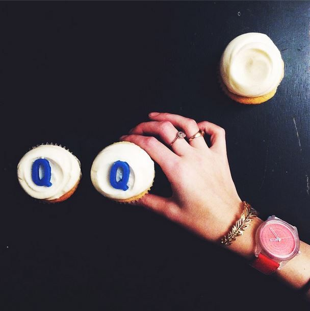 It's January 5th and we're already eating cupcakes. Whoops!