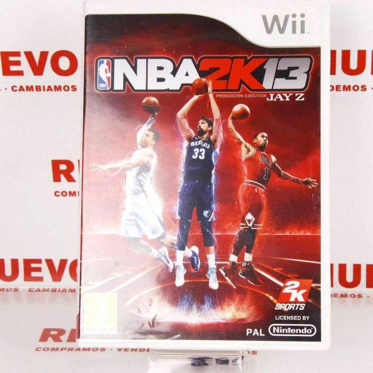 Juego NBA 2K13 para WII de segunda mano E271904# Juego Nba 2013# de segunda mano# WII