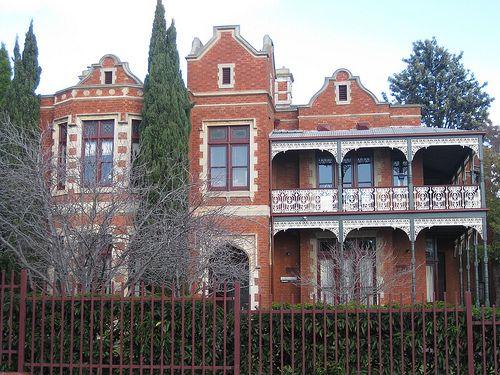 """Penleigh"" a former Victorian Mansion, now Penleigh and Essendon Grammar School - Moonee Ponds"