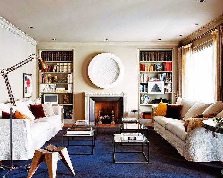 Decorating With Blue Carpet Liz Daigle Real Estate Minimalist Apartment Interior Apartment Interior Design Minimalist Living Room