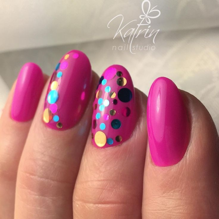 25+ Best Ideas About Confetti Nails On Pinterest