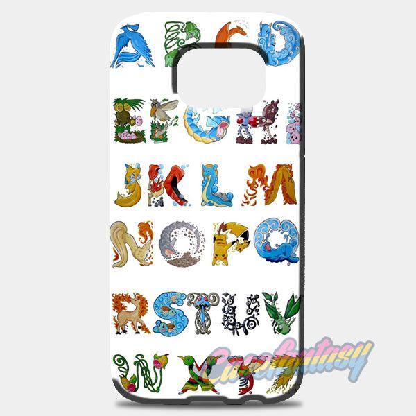 Pokemon Alphabet Samsung Galaxy S8 Case | casefantasy