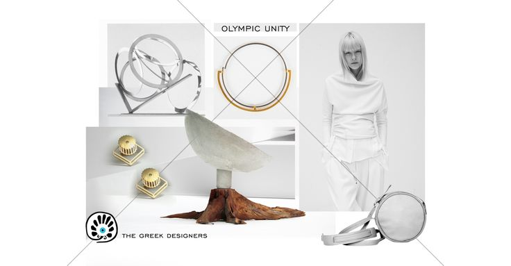 Olympic Unity | Moodboard | The moodboard draws inspiration from the Olympic Circles to define the rings' connection to each other to embody a unified world, with each ring representing one of the five continents. The rings a…Read more >> https://thegreekdesigners.com/2017/01/29/olympic-unity-moodboard/