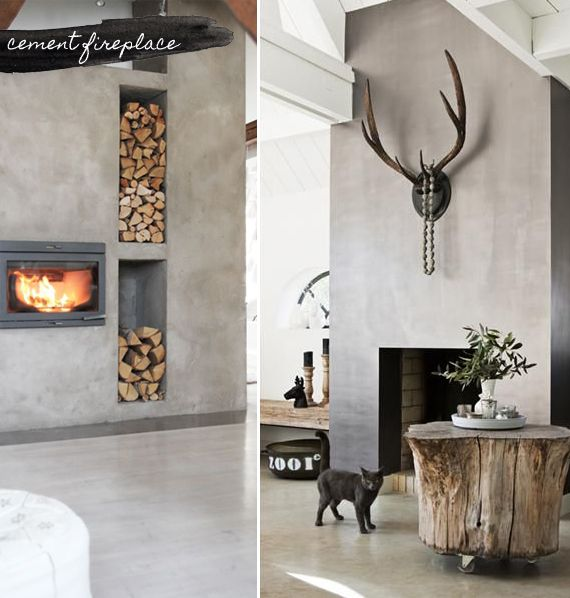 Cement finishes are stunning on walls, floors, even furniture. http://homeology.co.za/trends/trend-11-cement/