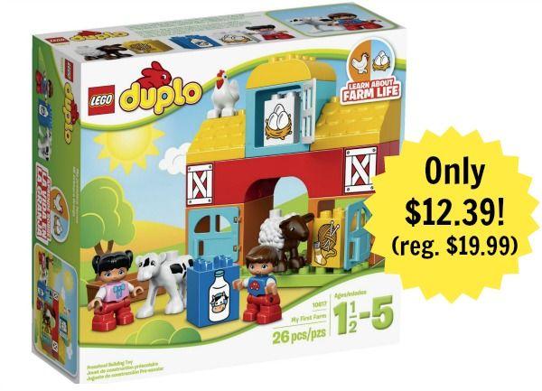 LEGO DUPLO My First Farm Only $12.39! (reg. $19.99)