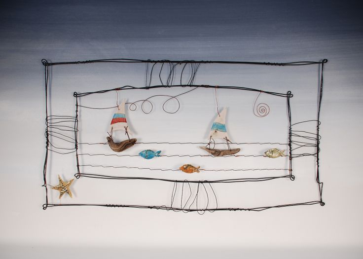 #Wire structures #contemporary #art #modern #handmade #unique #gallery #Rhodes #Greece