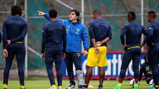 Ecuador presenta los 40 preseleccionados para la Copa América Centenario 2016