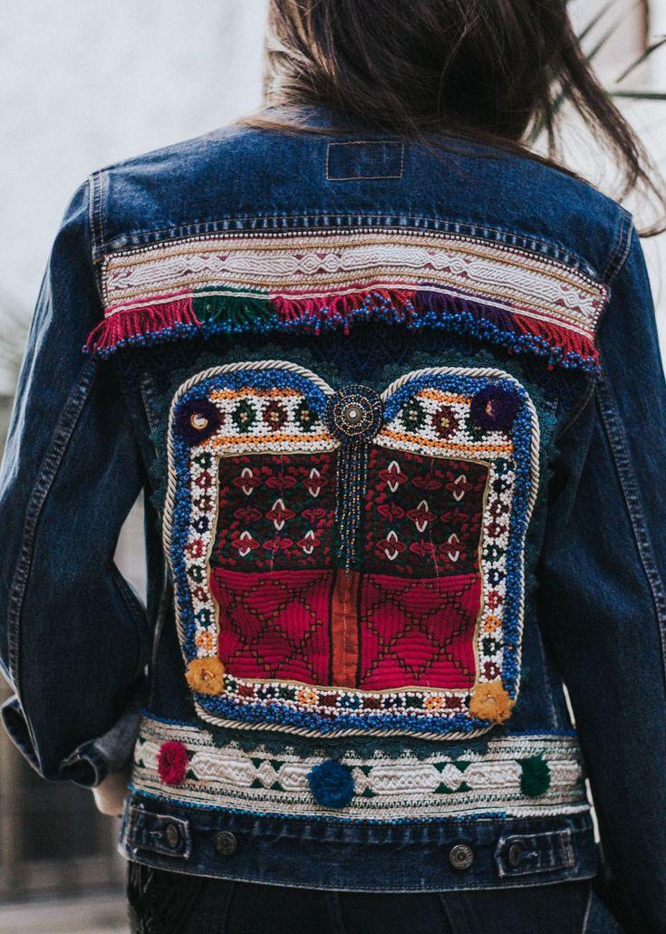 Artemisia signature boho embellished jacket //