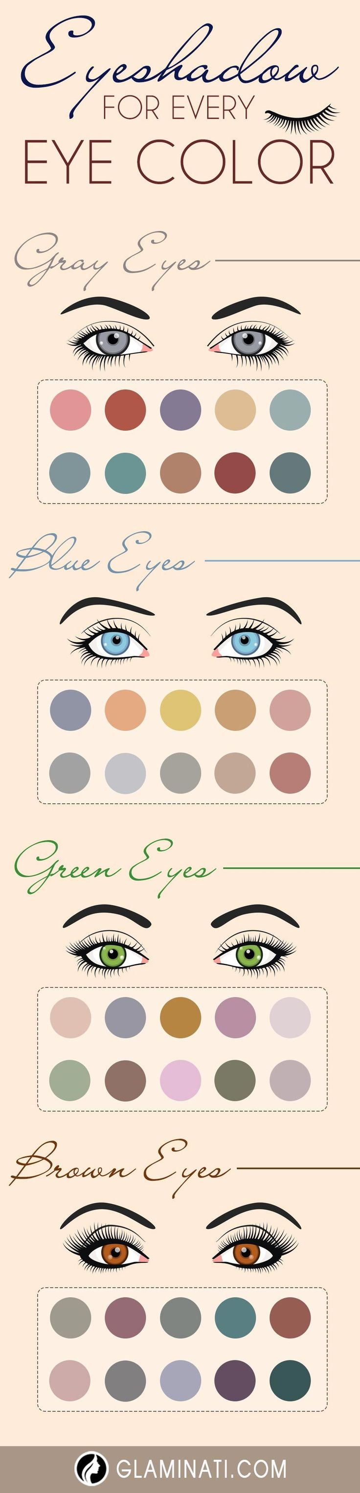 33 Most Magical Make-up Concepts for Grey Eyes