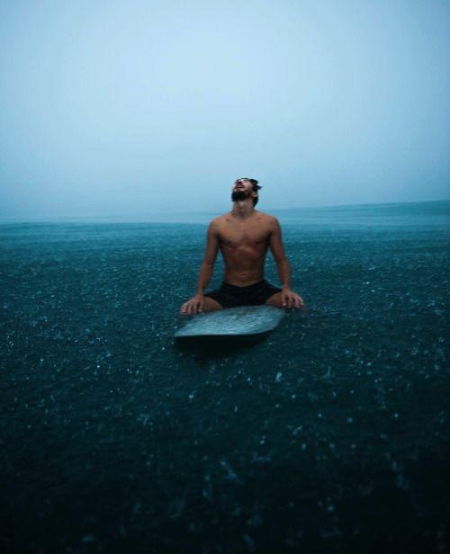 La libertad del oceano y la naturaleza es lo que me gusta de la vida