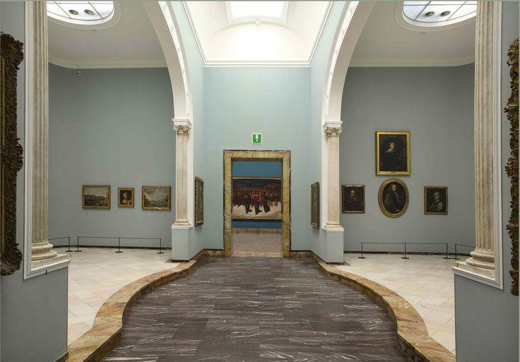 Dalla sala XXXV alla XXXVII si intravede il cuore dell'opera di Da Volpedo . #NBTWart #NBTW