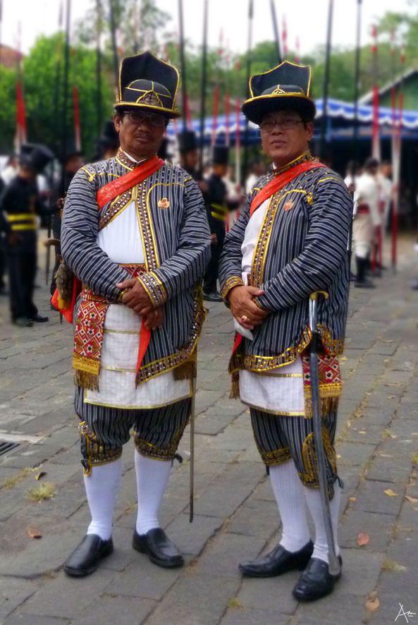 Guard of Sultan Palace Jogjakarta - Prrajurit Mantrijero