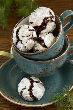 """Печенье """"Снежные вершины""""... шоколадное."""