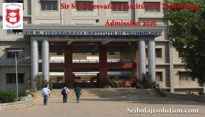 Sir M Visvesvaraya Institute of Technology (Sir MVIT) - Sri Balaji Solution is the leading educational admission consultancy in Bangalore. We provide admissions in all top colleges and universities.    http://www.sribalajisolution.com/engineering-bangalore/sir-m-visvesvaraya-institute-of-technology-admission.html